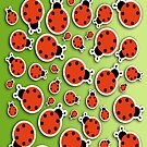 Ladybug IPhone Case by Bonnie T.  Barry