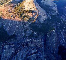 North Dome At Sunset - Yosemite by Tamara Valjean
