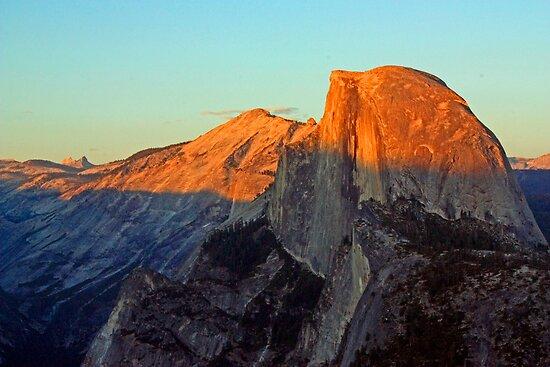 Half Dome at Sunset - Yosemite by Tamara Valjean