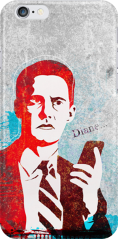 Agent Cooper ( Iphone case ) by fixtape
