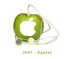 iEat Apples by Stefan Trenker