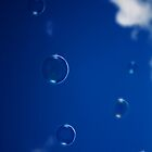 Bubbles in the sky by Maggie Lowe