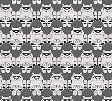 Droidtrooper Pattern by maclac
