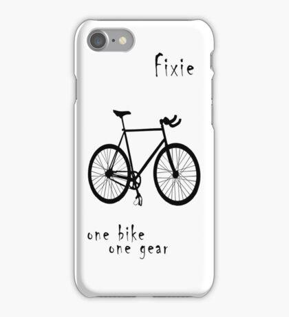 Fixie - one bike one gear iPhone Case/Skin