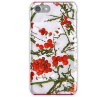 Snow and Berrys - iPhone Case iPhone Case/Skin