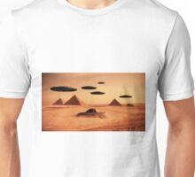 Ancient Aliens by Raphael Terra Unisex T-Shirt