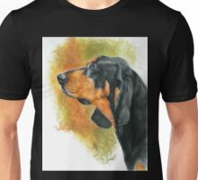 Black & Tan Coonhound Unisex T-Shirt