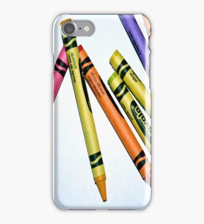 crayons iPhone Case/Skin