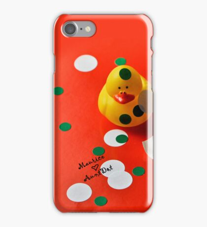 Maurice ♥ AuntDot iPhone Case/Skin