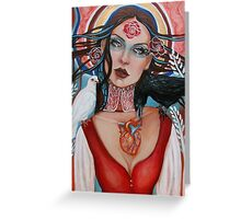 Mary, Queen of Sorrows Greeting Card