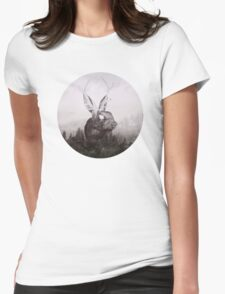 the escape Womens Fitted T-Shirt