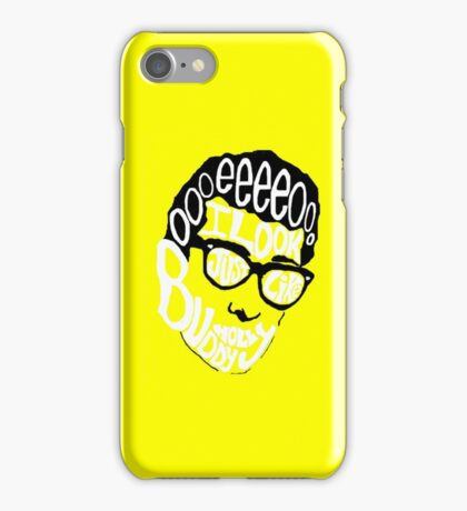 Buddy Holly by Weezer iPhone Case/Skin