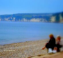Lunch in Seaton by Charmiene Maxwell-batten