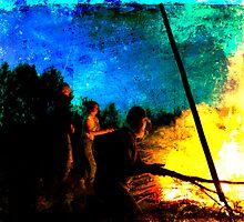 Burning by tutulele