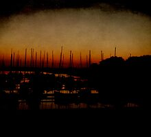 Yachts, Sunset by tutulele
