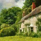 Cottages Stourhead by John Morrison