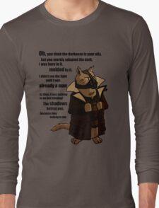 Bane's Cat Rises! Long Sleeve T-Shirt