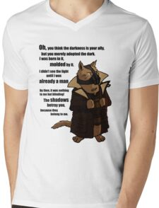 Bane's Cat Rises! Mens V-Neck T-Shirt