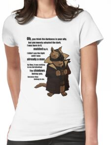 Bane's Cat Rises! Womens Fitted T-Shirt