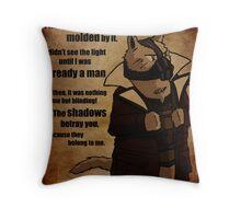 Bane's Cat Rises! Throw Pillow
