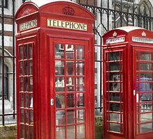 Telephone Boxes II by TheWalkerTouch