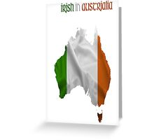 Irish in Australia  Greeting Card