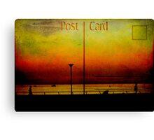 Post Card Canvas Print
