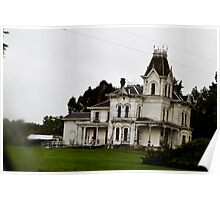 Spooky Old Mansion Poster