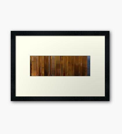 Moviebarcode: Hotel Chevalier (2007) Framed Print