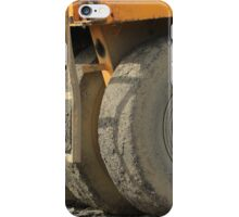 Wheels on Construction Equipment iPhone Case/Skin