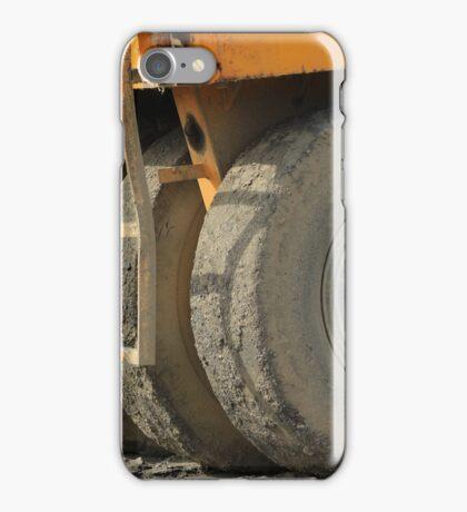 Wheels on Construction Equipment iPhone Case/Skin