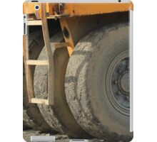 Wheels on Construction Equipment iPad Case/Skin