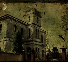 Dark Mansion by Margi