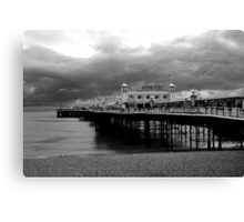 Brighton Pier (Black & White) Canvas Print