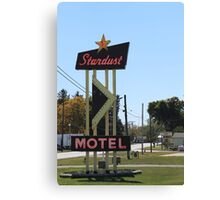 Stardust Motel, Darke County Ohio, USA Canvas Print