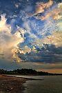 A Cloudy Evening by Carolyn  Fletcher
