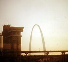 St. Louis Arch - (1990) by Dwaynep2010