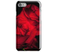 Love and a Red Rose Cannot Be Hidden iPhone Case/Skin