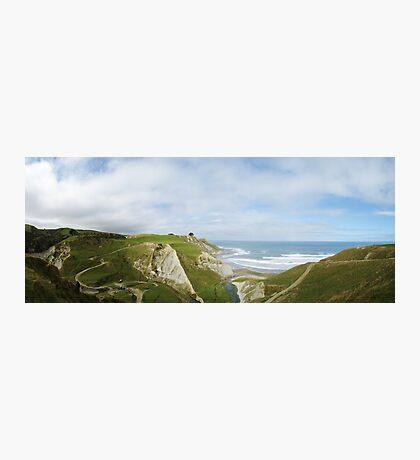 North Canterbury Marine Terraces Photographic Print