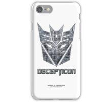 Decepticon v1 iPhone Case/Skin