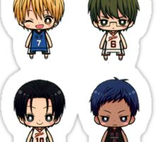 knb chibi Sticker