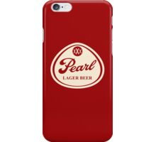 Pearl Lager Beer iPhone Case/Skin