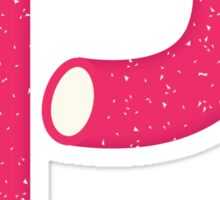 Candy Letter Series - Letter P (uppercase) Sticker