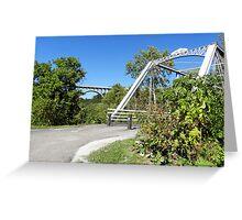 Station Rd. Bridge Greeting Card