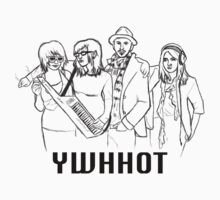 YWHHOT band tee by AnnaMackellar