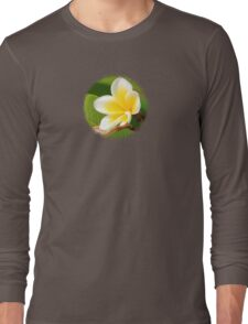 Plumeria  - JUSTART ©  Long Sleeve T-Shirt