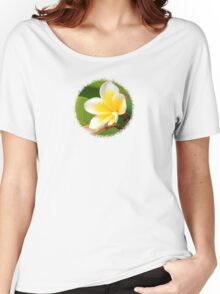 Plumeria  - JUSTART ©  Women's Relaxed Fit T-Shirt