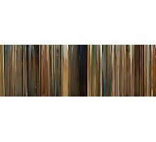Moviebarcode: The Darjeeling Limited (2007) Photographic Print