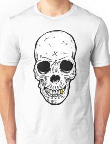 Skull x gold tooth Unisex T-Shirt
