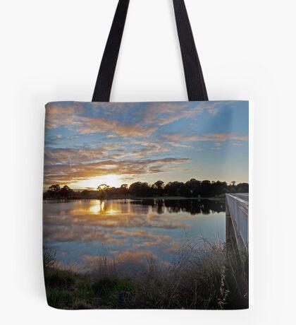 Srivener Dam Sunrise  Tote Bag
